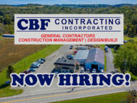 Featured Local Job: CBF Contracting Hiring for Multiple Positions