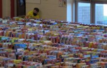 Say What?!: School Sets Guinness World Record for Cereal Box Dominoes