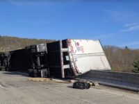Interstate 80 Eastbound Reopens Following Tractor-Trailer Crash on North Fork Bridge