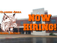 Featured Local Job: Multiple Positions at Clarion Area School District