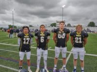 Area Football Stars Deliver Solid Performance East-West Game