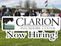 Featured Local Job: Multiple Positions at Clarion Psychiatric Center